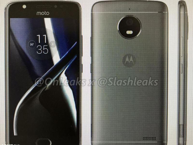 Motorola Moto E4 Leak