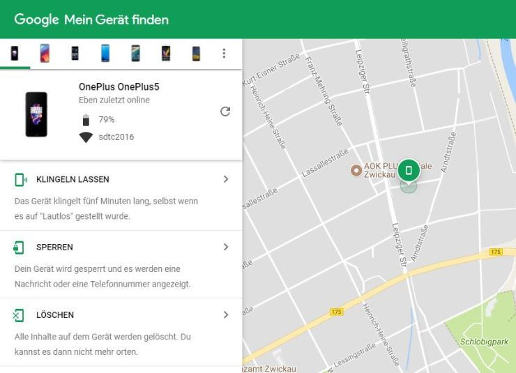 Android Find my Device
