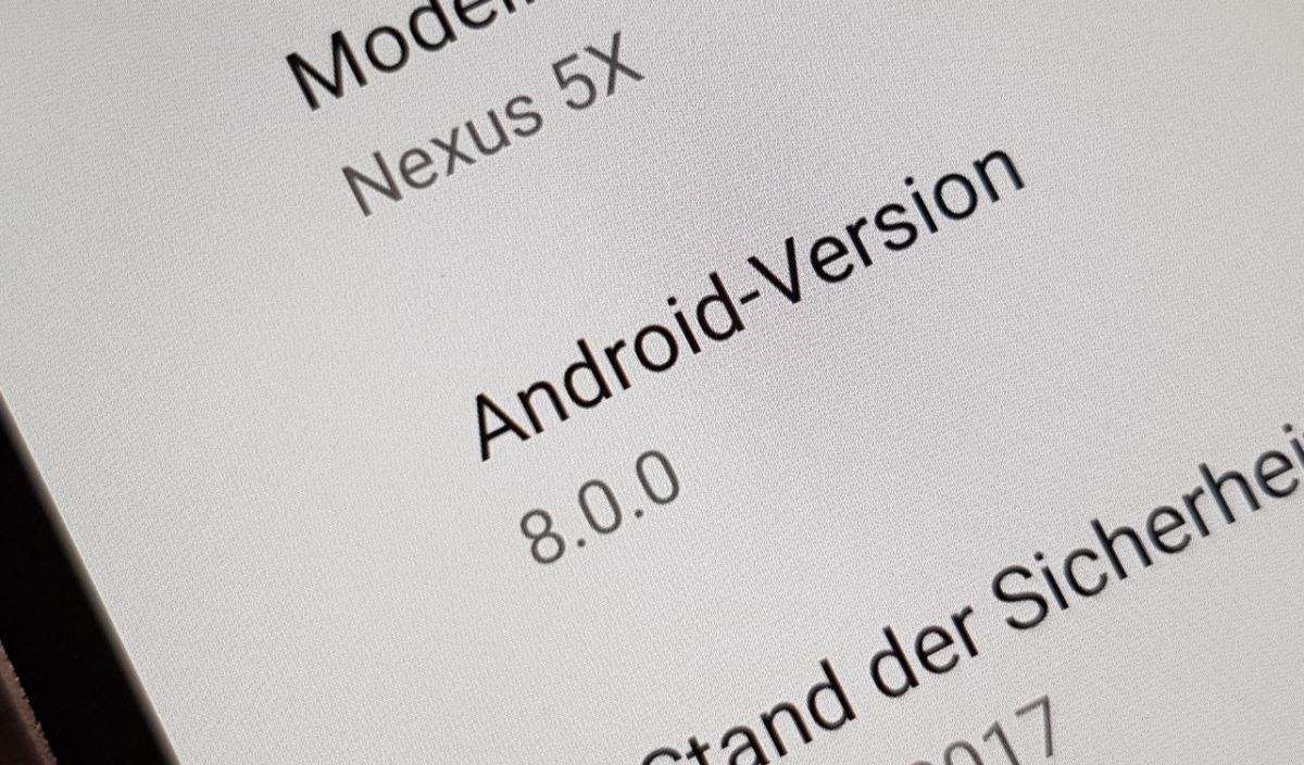 Android 8.0 oreo Header