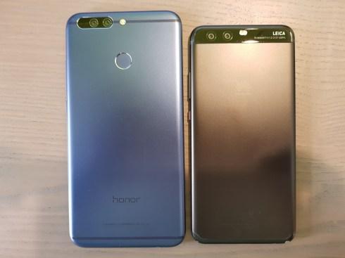 Huawei P10 vs Honor 8 Pro (2)