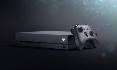 Xbox One X Header