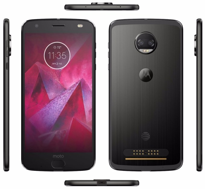 Moto Z2 Force Leak