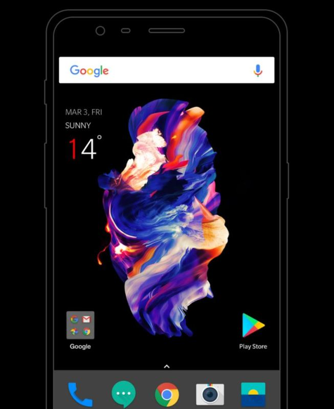OnePlus Launcher Header