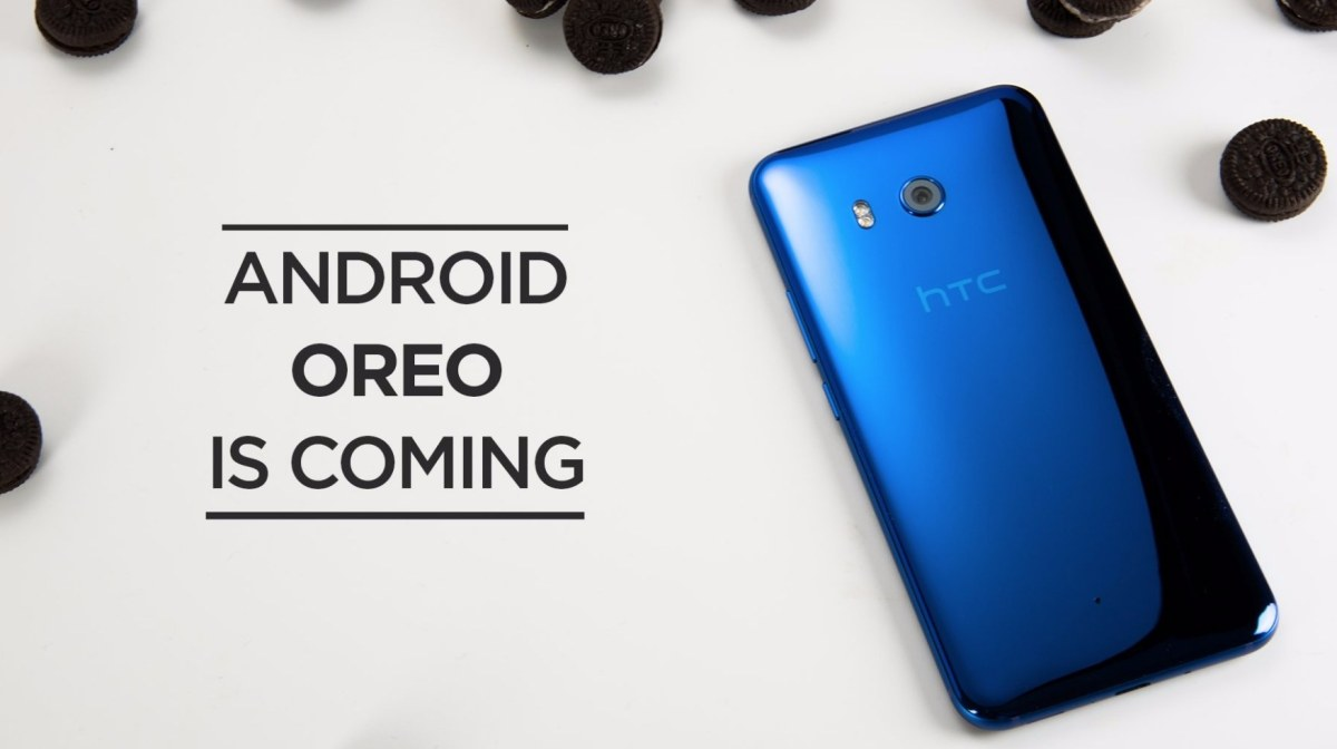 HTC U11 Android 8 Oreo Update