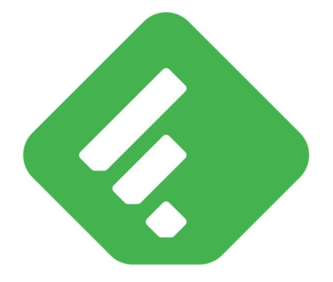 Feedly Logo Header