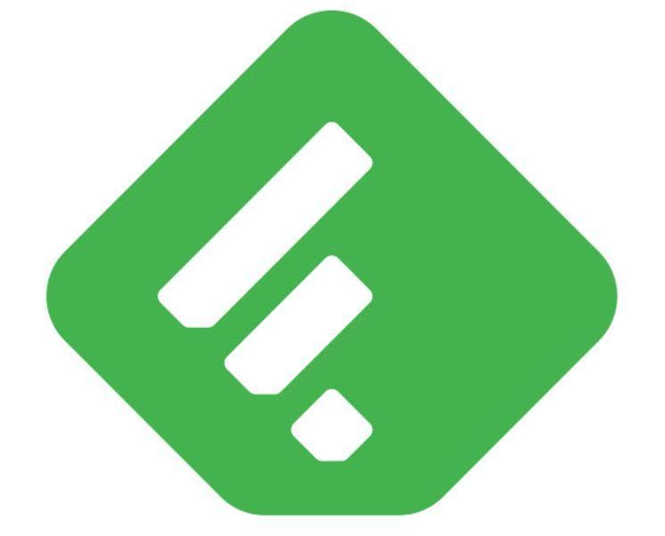 Feedly Logo Header