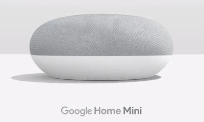 Google Home Mini Header
