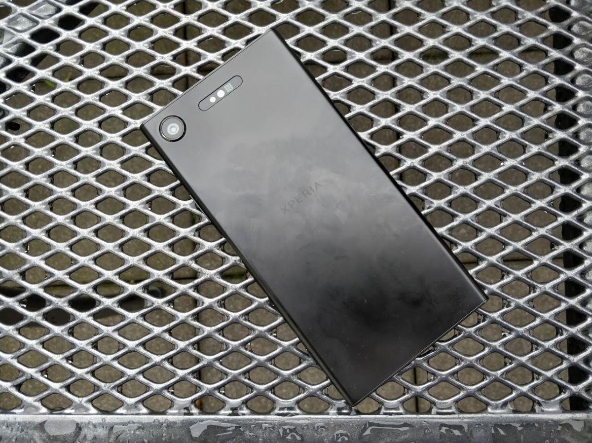 Sony Xperia XZ1 Test