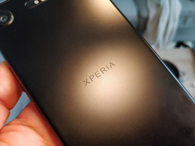 Sony Xperia XZ1 Test (7) Xperia Schriftzug Header