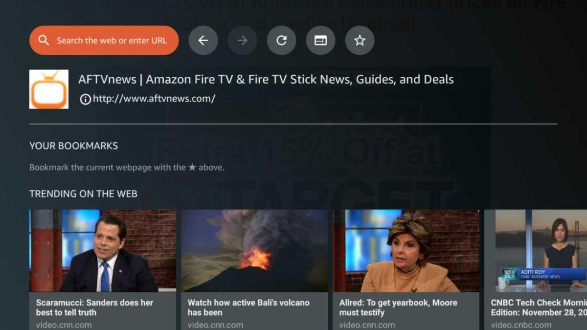 Fire TV Silk Browser