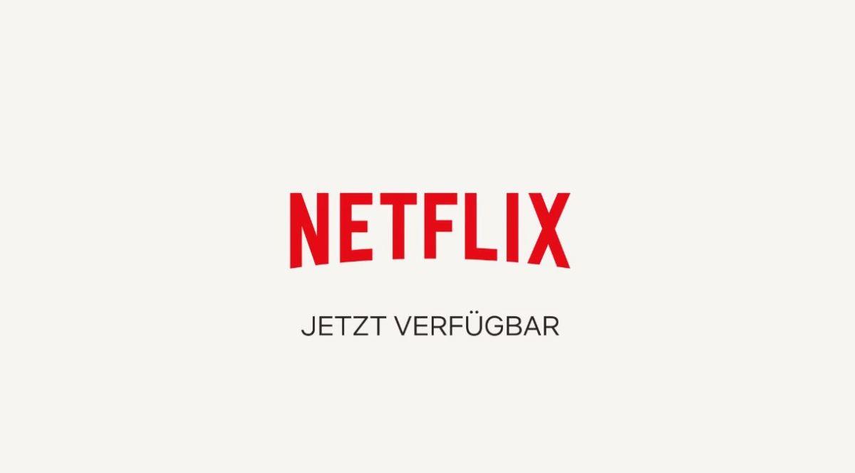 Netflix jetzt verfügbar Header