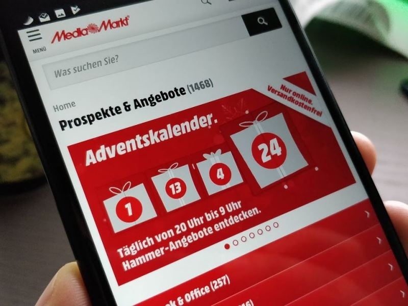MediaMarkt Adventskalender Header
