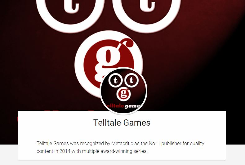 Telltale Games Google PLay