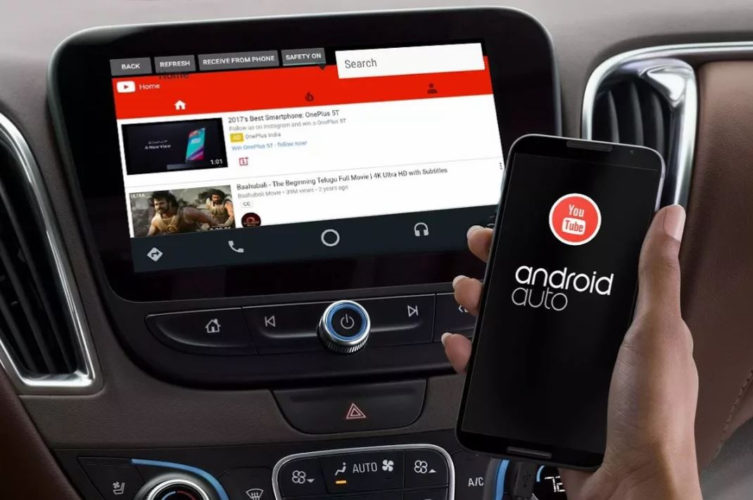Android Auto, YouTubeAuto