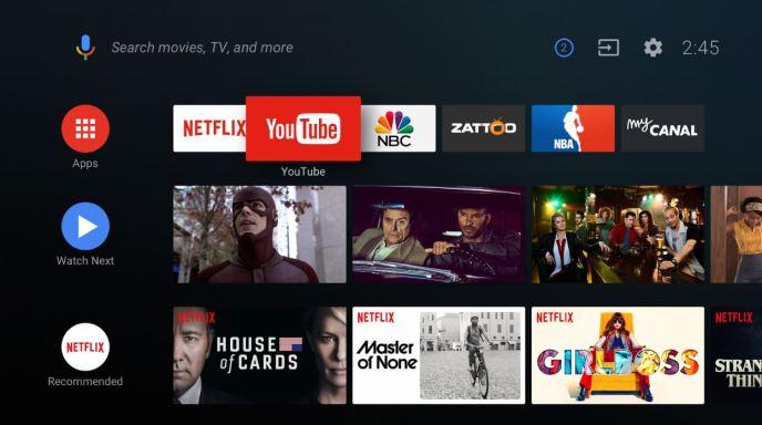 Android TV Oreo Update Screenshots