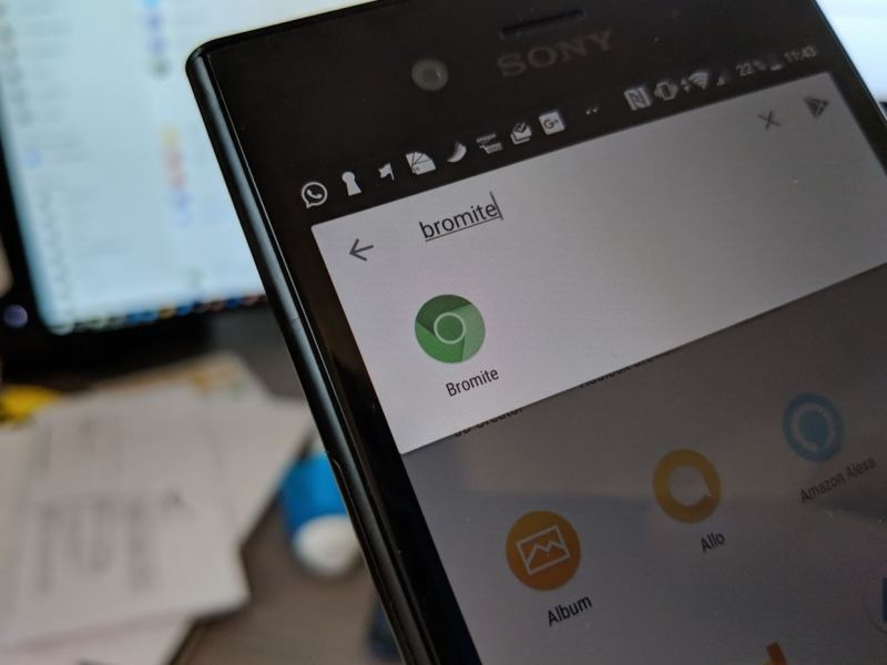 Bromite Browser Header