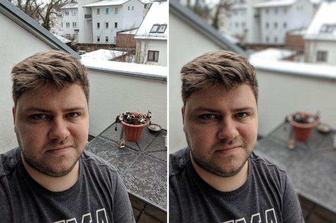 Google Pixel 2 XL Portrait Beispiel