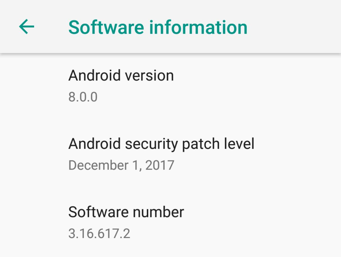 HTC 10 Android 8 Firmware 3.16