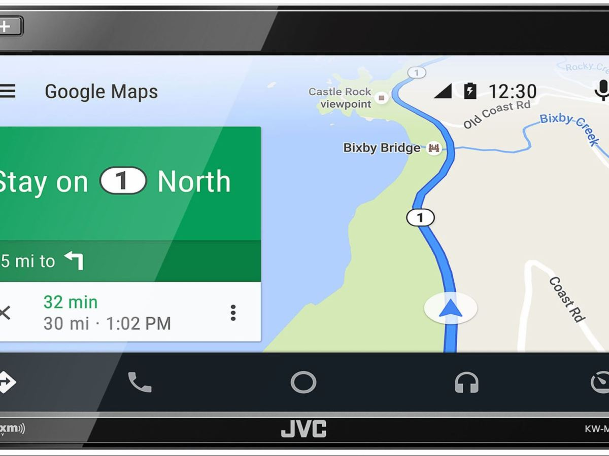 Kenwood KW-M845BW Android Auto