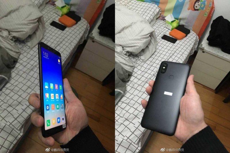 Xiaomi Mi 6X Weibo Leak