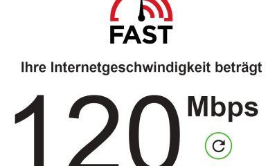 fast.com Screenshot