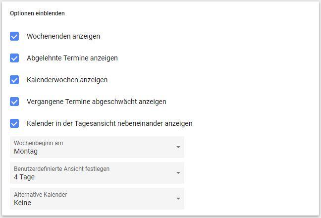 Google Kalender Kalenderwoche (1)