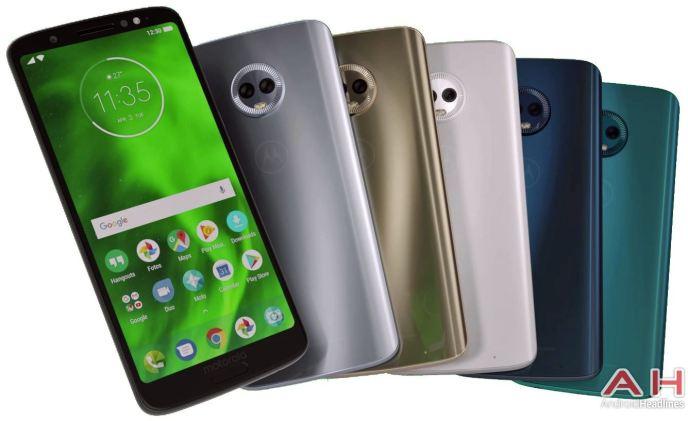 Motorola Moto G6 Plus Farben Leak