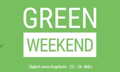Cyberport Green Weekend März 2018