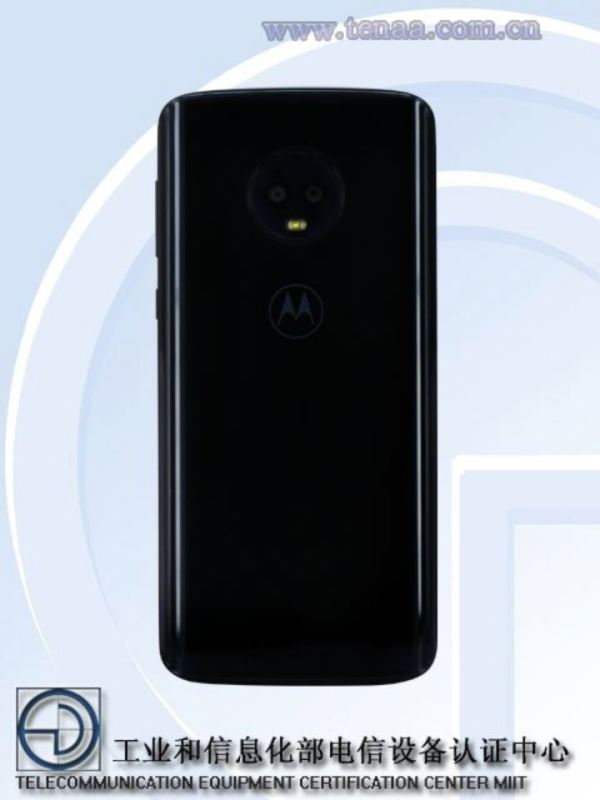 Moto G6 Tenaa Leak