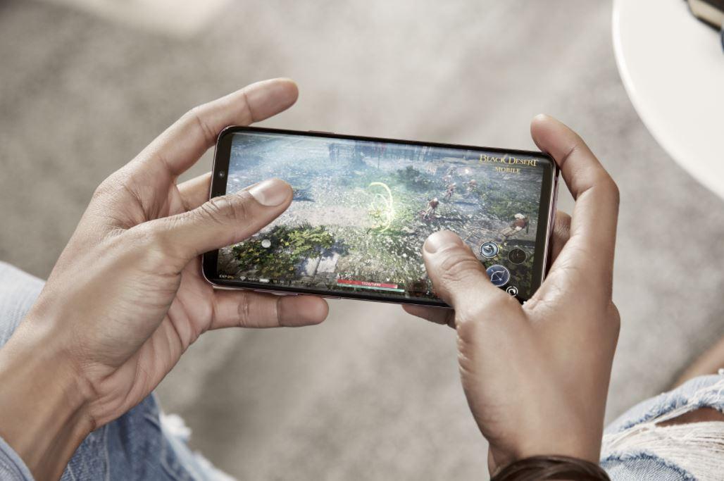 Samsung Galaxy S9 Display Gaming Header