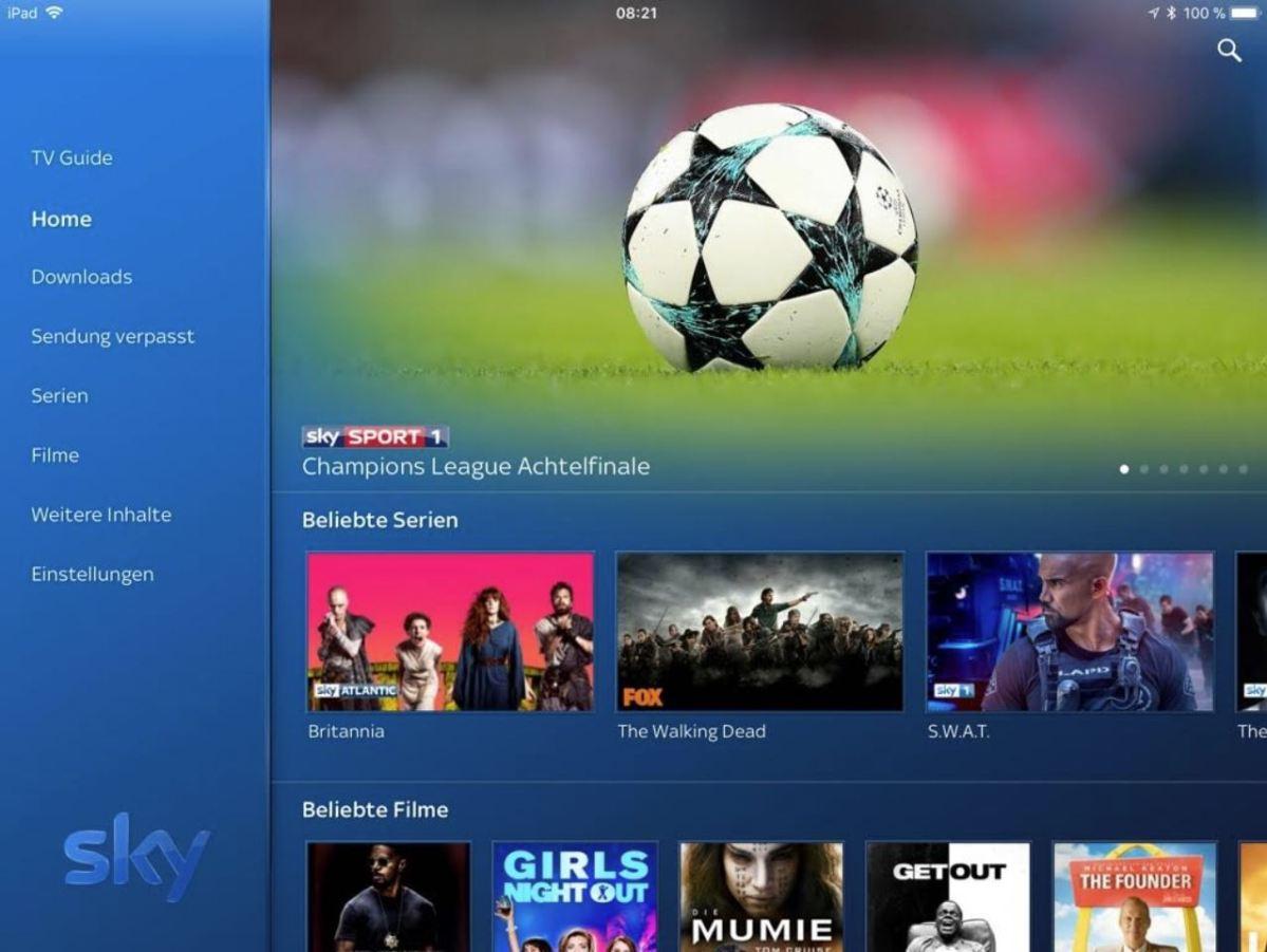 sky go vom tablet auf tv Гјbertragen