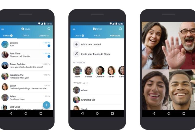 Skype Screenshots Android Smartphone