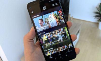 DAZN Android App Header 2018