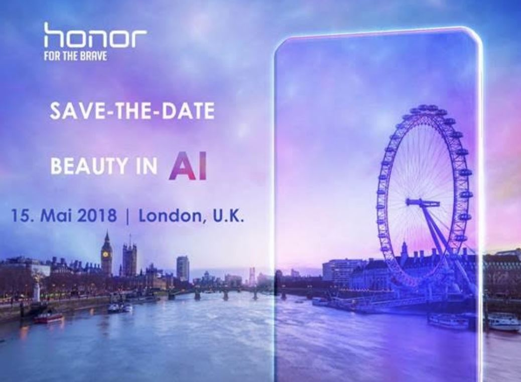 Honor 10 Event Mai 2018