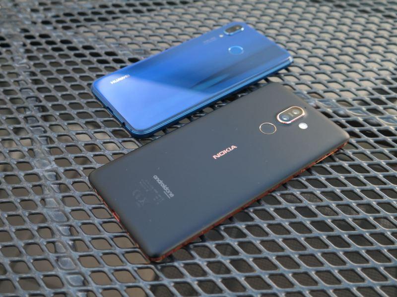 Nokia 7 Plus Huawei P20 lite