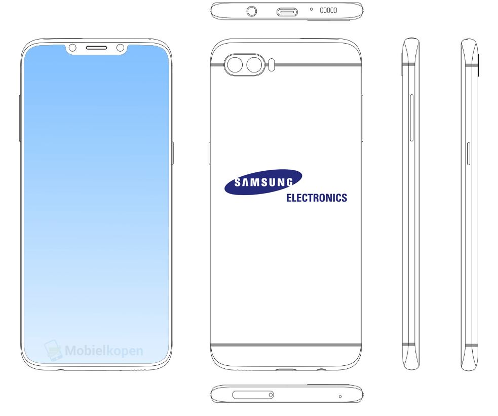 Samsung Notch Display Patent
