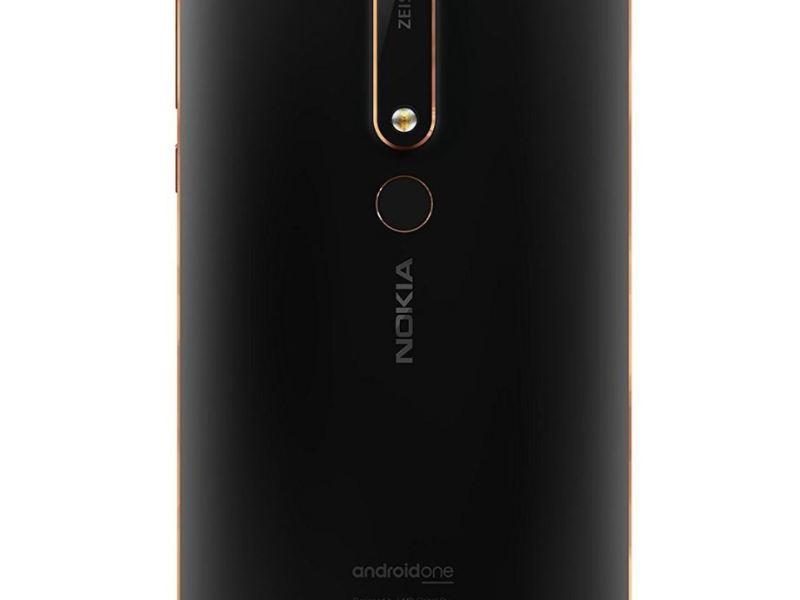 Nokia 6.1 2018 Rückseite Header