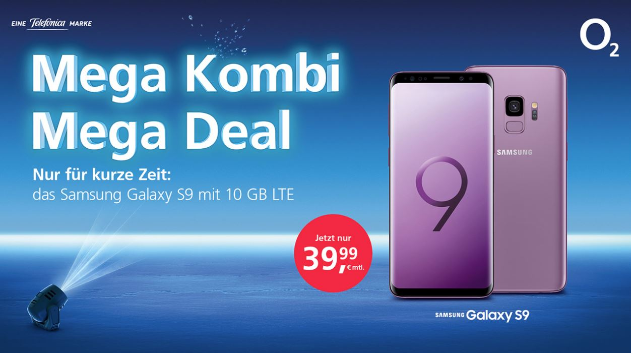 Samsung Galaxy S9 From Chrome Only For 2 Euro