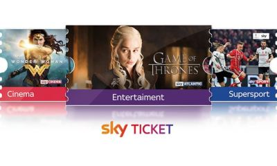 Sky Ticket Header