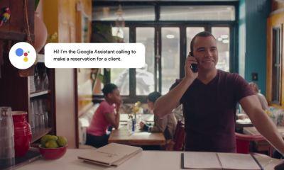 Google Assistant Restaurant Reservierung Duplex Header