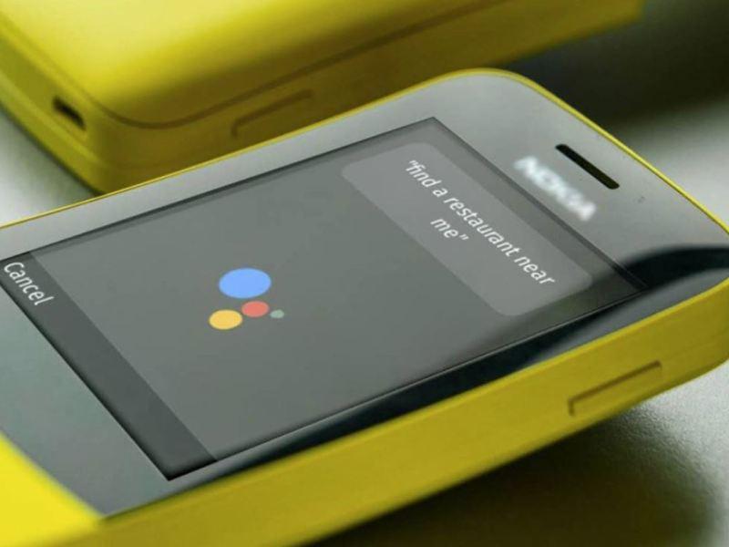 Nokia KaiOS Assistant Header