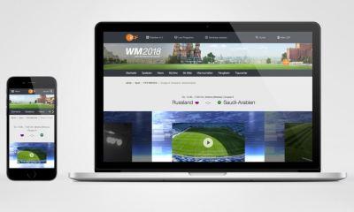 ZDFmediathek WM 2018 App