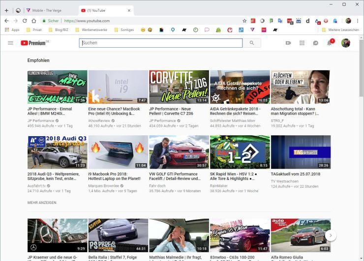 Chrome 68 Design