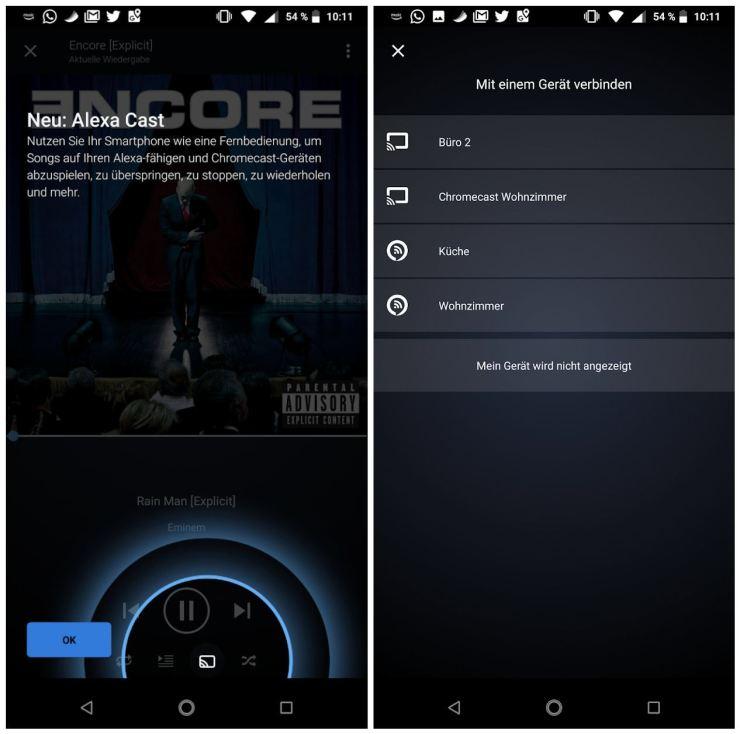 Amazon Music App Alexa Cast