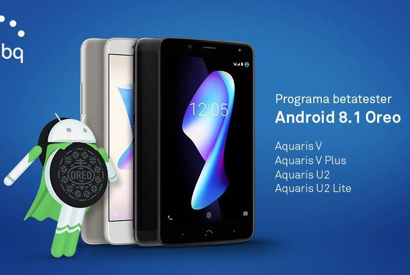 BQ Android 8.1 Beta Aquaris V V Plus U2 U2 lite