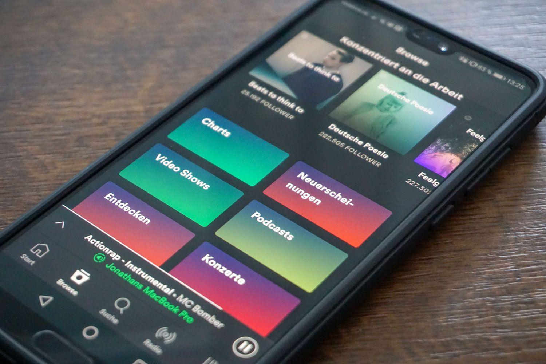 Spotify kann jetzt wesentlich länger kostenlos getestet werden