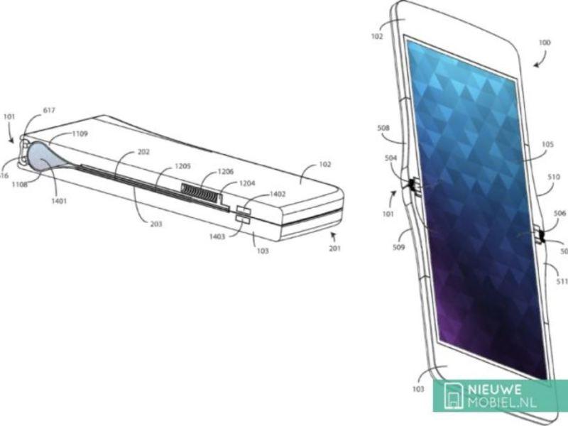 Motorola RAZR Falt patent