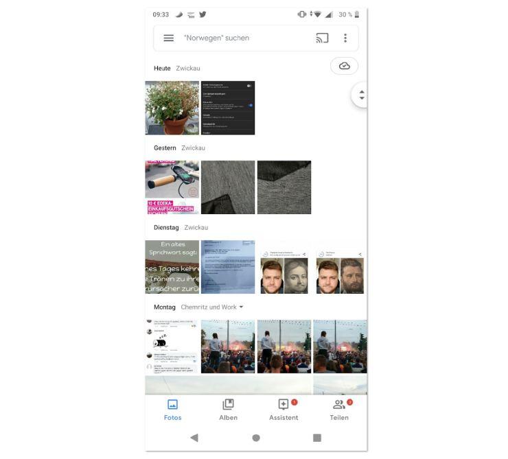 Google Fotos 4.0 Design