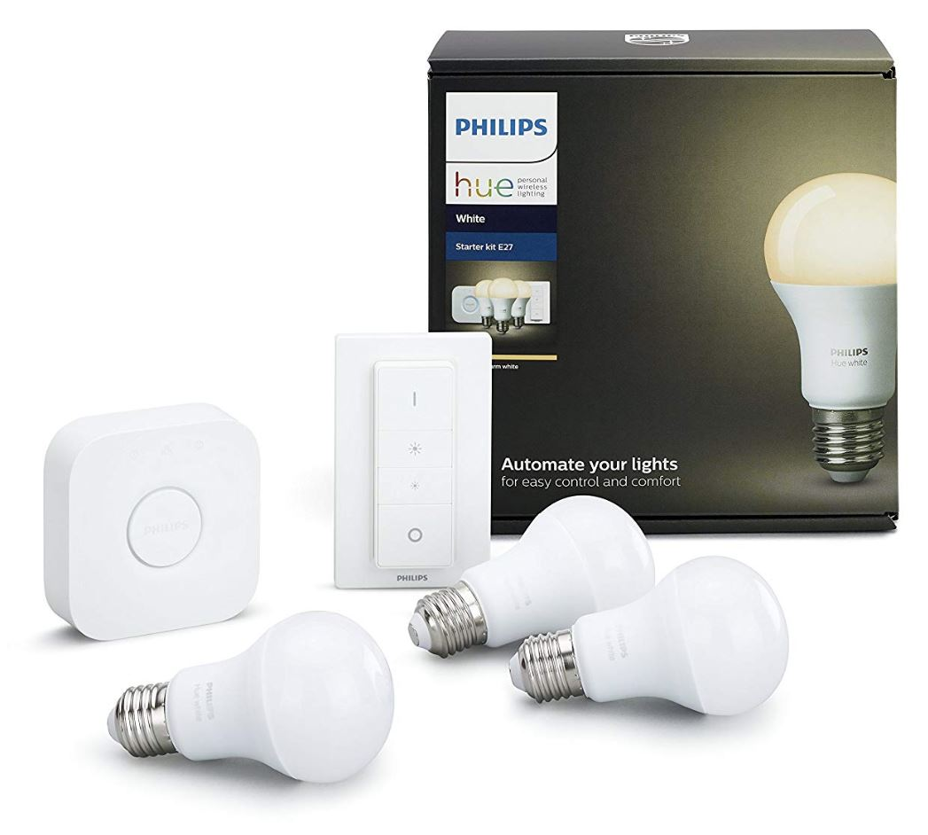 philips hue white starter kit erneut im tiefpreis angebot. Black Bedroom Furniture Sets. Home Design Ideas