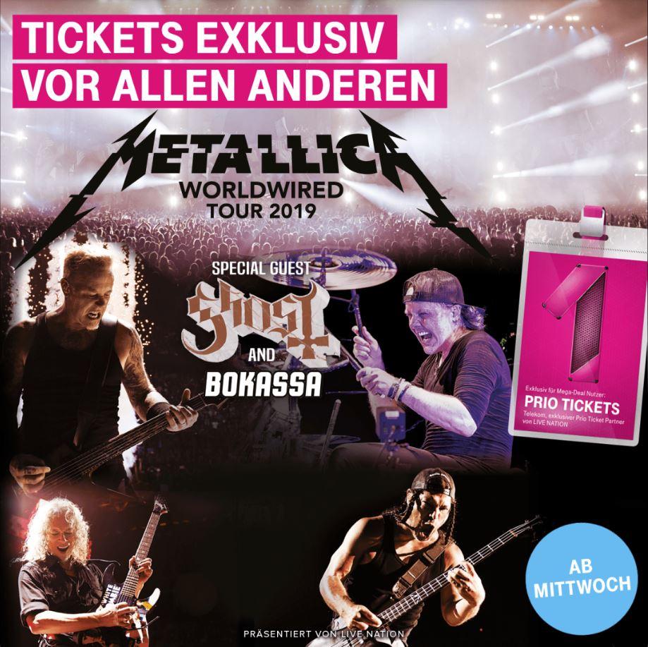 Telekom Mega-Deal Metallica